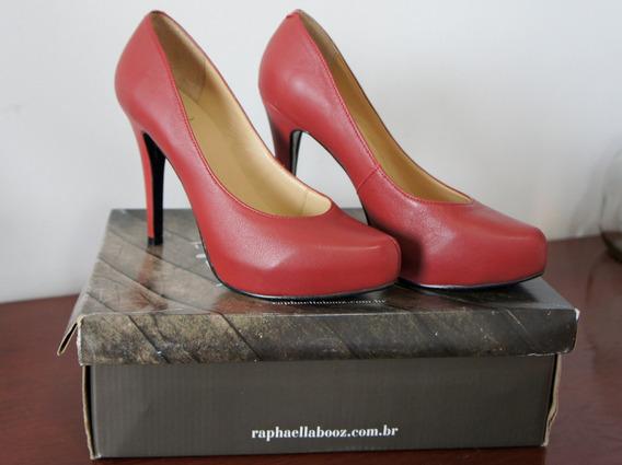 Sapato Raphaella Booz Vermelho - Novo