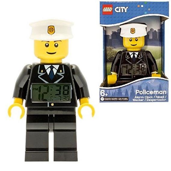 Reloj Despertador Lego City Policía 9002274 Envio Gratis