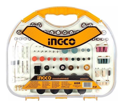 Imagen 1 de 3 de Accesorios Kit Juego 250 Fresas Para Mini Torno Ingco - Tyt