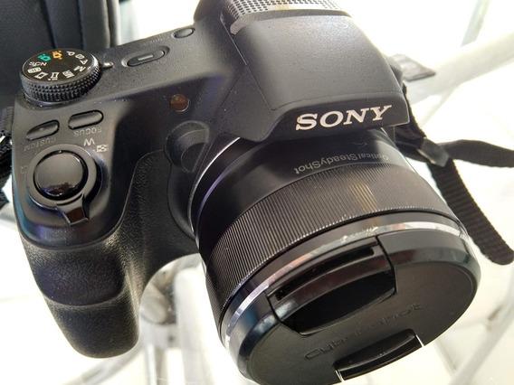 Frete Grátis! (com Defeito) Câmera Sony Hx200v + Itens