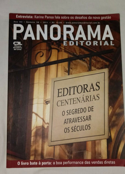 Revista Panorama Editorial Nº 58 - Ano 7