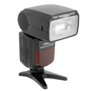 Oloong Sp-690ii 2 Inch Lcd Flash I-ttl Speedlite Light Head