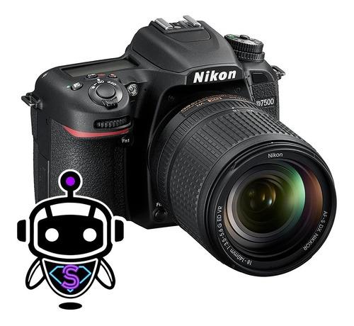 Nikon D7500 Profesional + Lente + 128gb + Trípode + Maleta !