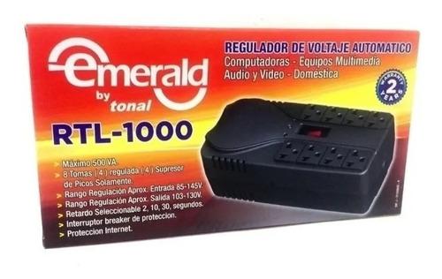 Regulador De  Voltaje   Emerald  Tonal Rtl1000