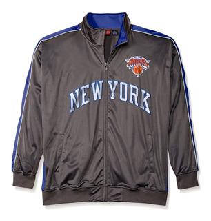 Exclusiva Chamarra Ligera Majestic Nba New York Knicks 2xlt