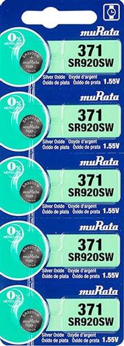 Imagen 1 de 7 de Pila Sony 371/920sw Blister 5u Original Distribuidor Oficial