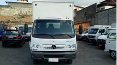 Mercedes-benz Mb Accelo 915 11/11 Baú 6,5 Mtrs Branco