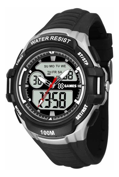 Relógio X Games Xmppa229 Bxpx Masculino Prata - Refinado
