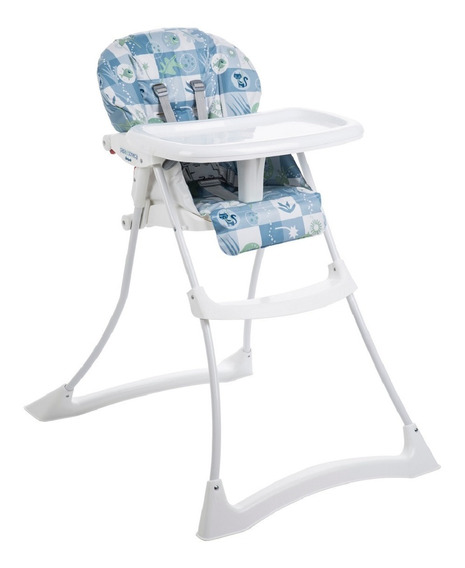 Cadeira P/ Refeicao Papa E Soneca Peixinhos Azul - Burigotto