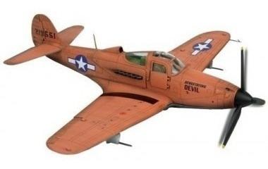 Avião 2 Guerra P-39q Airacobra Us 1/32 Force Of Valor 80249