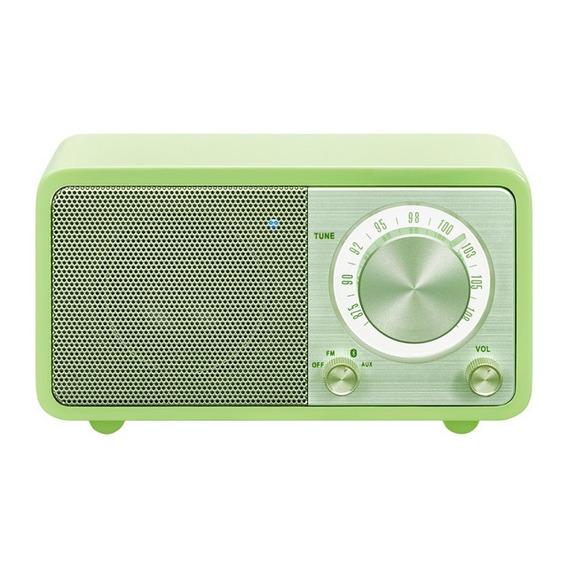 Rádio Sangean Mozart Cor Verde Fm Bluetooth Importado