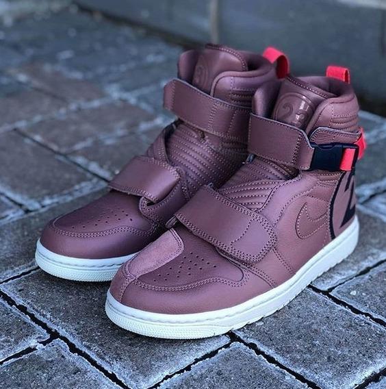 Jordan Nike 1 Moto Smokey Mauve Nuevos Originales