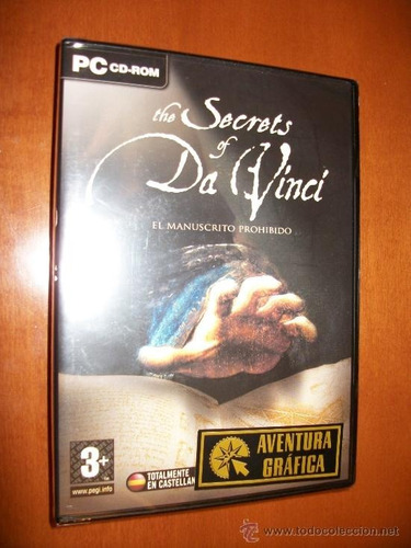 Imagen 1 de 3 de The Secrets Of Da Vinci Pc Fisico Original Nuevo Abasto