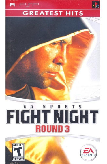 Fight Night Round 3 Greatest Hits Psp Mídia Física Novo
