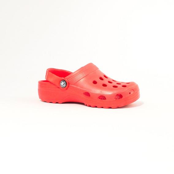 Zueco Cromic Cromic Monocolor Infantil 2102c Rojo