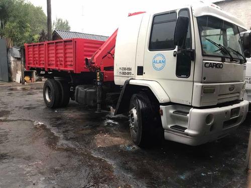 Camion Ford Cargo 1722 Con Hidrogrua