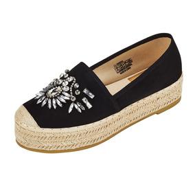 Sandalias De Las Mujeres Pisos Zapatillas Casual Jeans