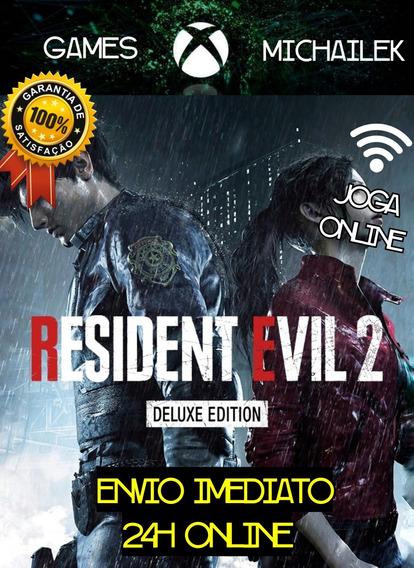 Resident Evil 2 Remake Xbox One Mídia Digital + Jogo Brinde