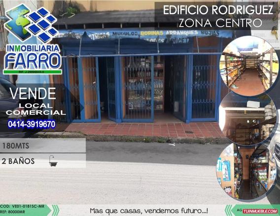 Venta De Local Comercial Sector Centro Ve01-0181sc-ng