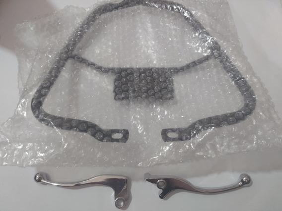 Alca Traseira Espotiva + Manetes Curto Titan Fan 150 09 A 13