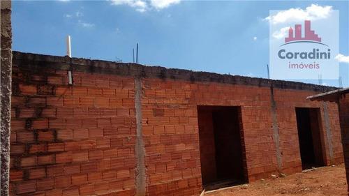 Imagem 1 de 16 de Casa Com 3 Dormitórios À Venda, 170 M² Por R$ 350.000 - Santa Luíza - Nova Odessa/sp - Ca0440