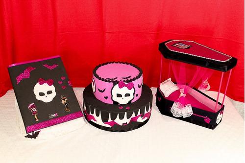 Kit Decoração De Festa Monster High - Convite Modelo Grande