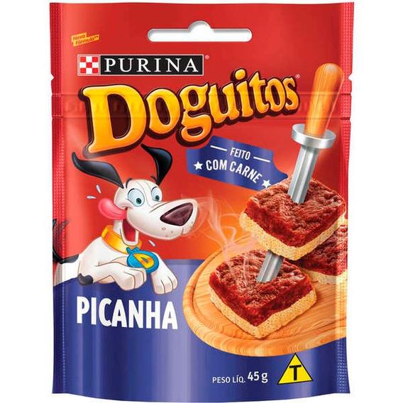 Petisco Nestlé Purina Doguitos Picanha Para Cães - 45 G