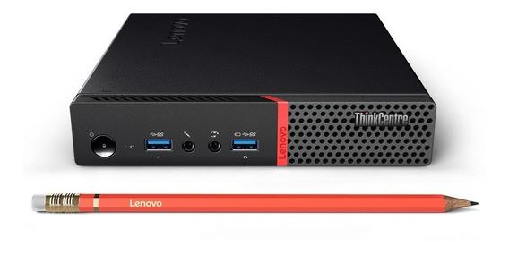 Cpu Mini Thinkcentre M900 I5-6400t 8gb + Monitor 19,5+kit