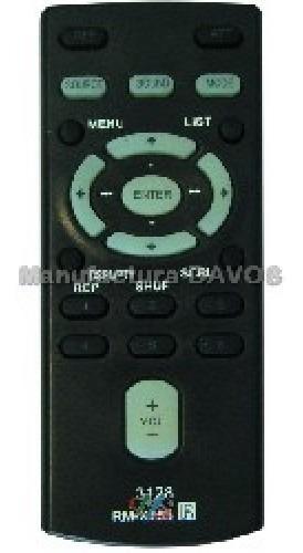 Control Remoto Estereo De Auto Similar A Sony Rmx155 128 C