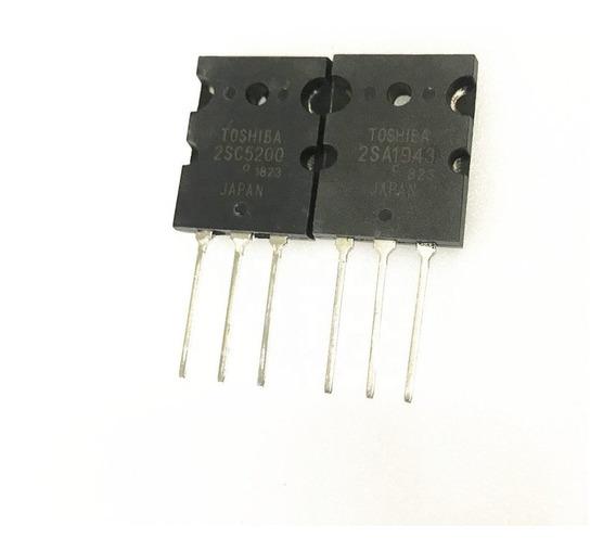 2sa1943 + 2sc5200 A1943 C5200 5200 1943 Par Complementario