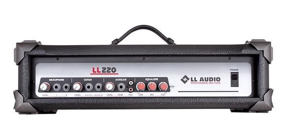Cabeçote Amplificado Multiuso Ll220 - Ll Audio 50w Rms