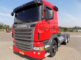 Scania R-440 A 6x4 (e5) 2013 Vermelha