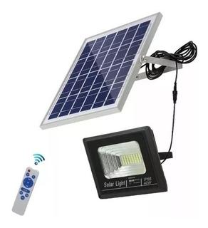 Reflector Panel Solar Exteriores 40w Led Luz Lampara Foco