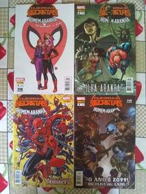 Homem-aranha Guerras Secretas Vol. 1 Ao 4 Completo