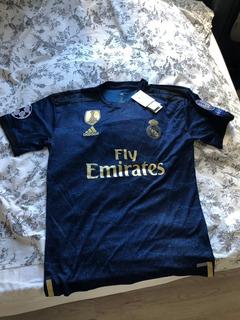 Camisa De Futebol Real 2019 Madrid 2010 + Champions League