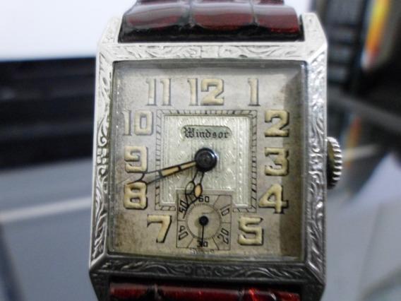 Reloj Windsor Vintage Raro 6 Joyas Manual Caballero