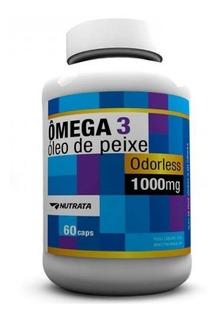 Omega 3 - Óleo De Peixe - 1000mg - 60 Caps - Nutrata