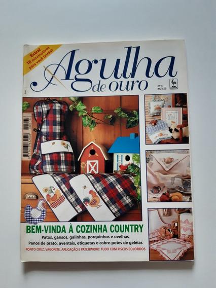Revista Agulha De Ouro Ponto Cruz Cozinha Country D691