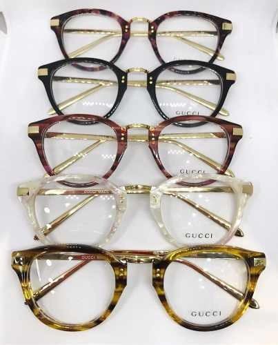 41219252c Oculos Gucci Armação De Grau Acetato Gucci - Envio Imediato - R$ 120,00 em  Mercado Livre