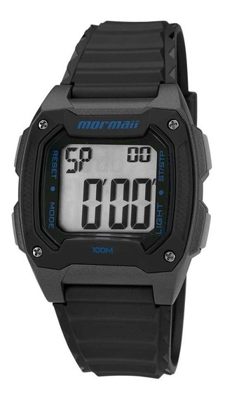 Relógio Mormaii Mo11516a/8a Mo11516 /8a Preto Acqua