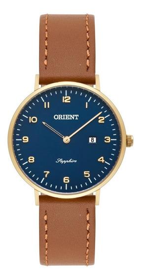 Relógio Orient Slim Unissex Pulseira De Couro Fgscs001 D2mx