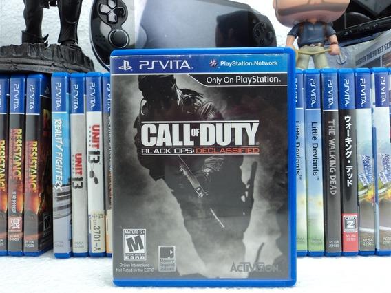 Call Of Duty Black Ops: Declassified - Ps Vita - Em Até 12x!