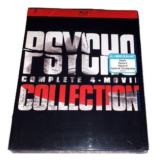 Psycho Complete Collection Psicosis Boxset Bluray Importado