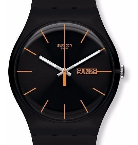 Imagen 1 de 6 de Reloj Swatch Dark Rebel Suob704   Original Envío Gratis