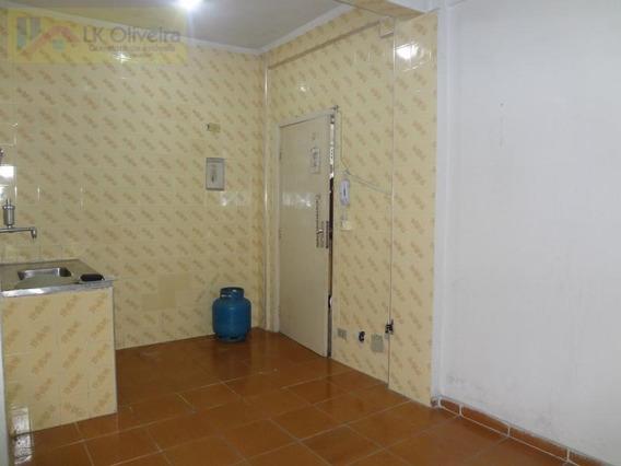 Kitnet Para Venda, Canto Do Forte, 1 Banheiro, 1 Vaga - Kt16