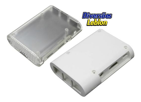 Case Caixa P/ Rapsberry Pi 3 Branca Ou Transparente