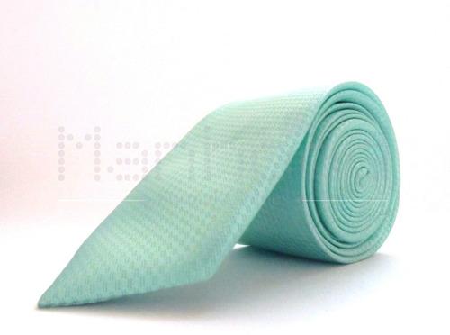 Corbatas -  Verde Menta Slim