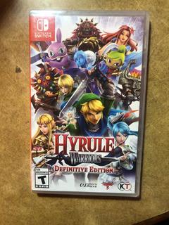 Videojuego Hyrule Warriors Definitive Edition Switch