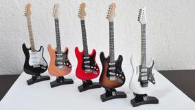 Guitarras Eléctricas, Réplicas En Miniatura