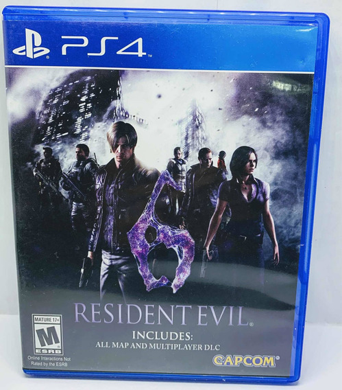 Resident Evil 6 Ps4 Alemão Games